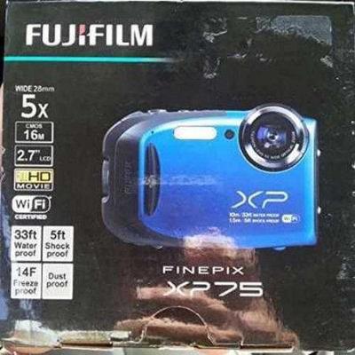 Refurbished FujiFilm Finepix XP75 Water & Shock Proof Digital Camera