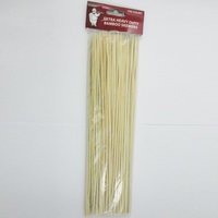 Atb 100 Bamboo Skewers 12 Inch Wood Wooden Sticks BBQ Shish Kabob Fondue Party Grill