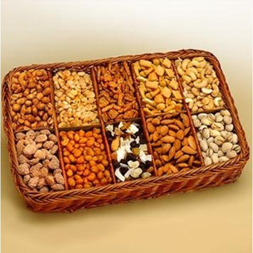 Snackers Delight Gift Tray | Dried Fruits and Nuts Gift Basket
