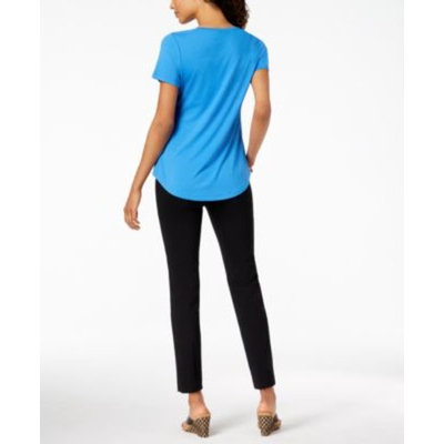 Scoop-Neck Top & Embellished Pull-On Pants, Created for Macy's