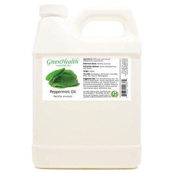 Peppermint Essential Oil - 32 fl oz (946 ml) Plastic Jug w/ Cap - 100% Pure Essential Oil by GreenHealth