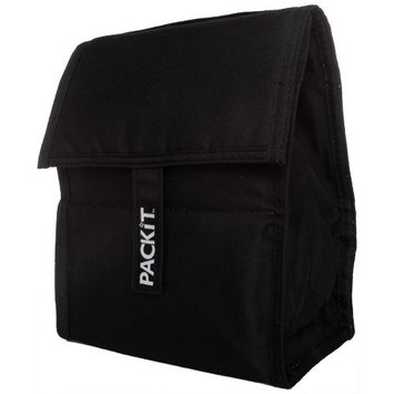 PackIt Freezable Lunch Bag, Black