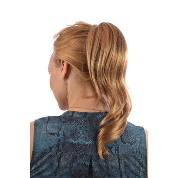 Blonde/Brown Mix Pony Twist Ponytail Hairpiece | Mid Length Wavy Ponytail Claw Clip