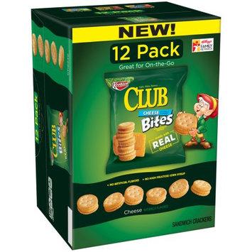 Kellogg Sale Company Club Cheese Bites Sandwich Crackers 12 ct Caddies (Pack Of 4)