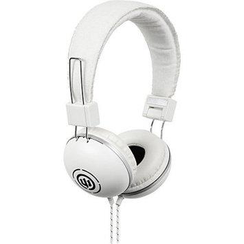 Empire Brands Wicked Audio Over Ear EVAC White Headphones