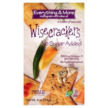 Partners A Tasteful Choice Co Wisecrackers, Cracker Everything Bitesize, 4 Oz (Pack Of 6)