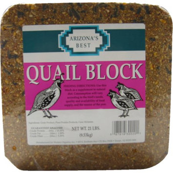 Gro-well Brands Arizona's Best Quail Seed Block