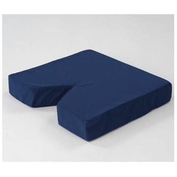 Living Health Products AZ-74-5012-2N Navy Coccyx V Cushion
