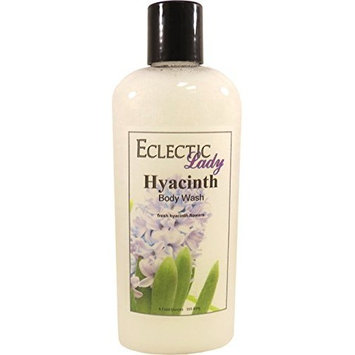 Hyacinth Body Wash, 8 ounces by Eclectic Lady