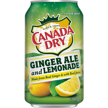 Canada Dry Ginger Ale Lemonade 12 Oz Can - Pack Of 24 [Ginger Ale and Lemonade]