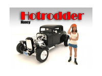 American Diorama AD24008 Hotrodders Nancy Figure for 1-18 Scale Models