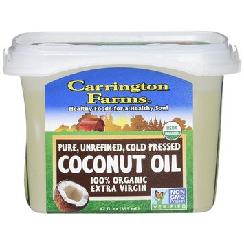 Carrington Farms Organic Extra Virgin Coconut Oil, 12 Ounce (Pack of 5)