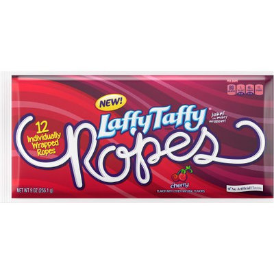 Laffy Taffy Ropes Cherry, 9 Oz (Case of 12)