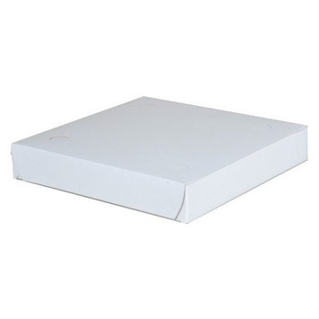 Southern Champion Tray 1405 Clay Coated Kraft Paperboard White Pizza Box, 9
