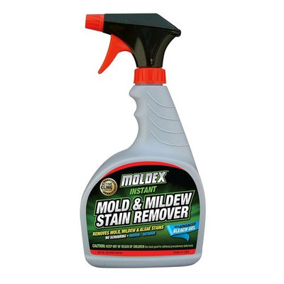 Moldex 7010 Mold & Mildew Instant Stain Remover Trigger Sprayer, 32 oz - Pack of 2