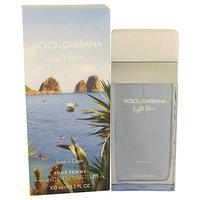Dolcé & Gabbaná Líght Bluê Lôve In Cápri Perfúme For Women 3.4 oz Eau De Toilette Spray + a FREE Head Over Heels 3.4 oz Shower Gel