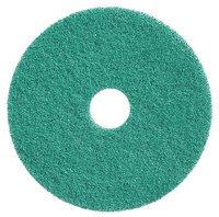TOUGH GUY 6RJN1 Recycled Polishing Pad,20 In, Green, PK2