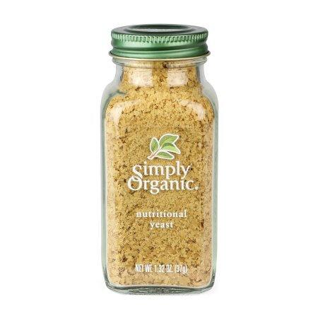Simply Organic Nutritional Yeast, 1.32 Oz