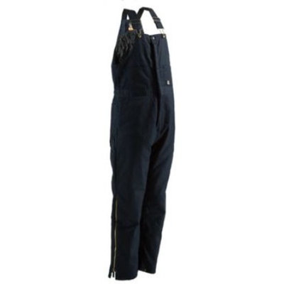 Berne Apparel B414NVT600 4X-Large Tall Deluxe Insulated Bib Overall - Navy Twill