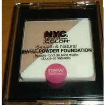 NYC Smooth and Natural Matte Powder Bronzer Sun Glow by NYC