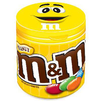 Product Of M&M, To Go Peanut - Bottle, Count 6 (3.5 oz) - Chocolate Candy / Grab Varieties & Flavors