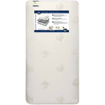 Serta Crib Mattresses Serta Nightstar Comfort Deluxe Crib and Toddler Mattress