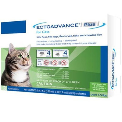 EctoAdvance Plus for Cats [Options : 3 Doses]