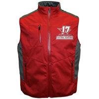 Men's Franchise Club Alabama Crimson Tide 17-Time National Champions Softshell Vest