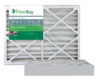 AFB Platinum MERV 13 12x24x4 Pleated AC Furnace Air Filter. Filters. 100% produced in the USA. (Pack of 2)