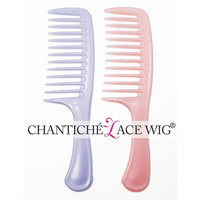 2pcs Wide Tooth Detangling Hair Combs for Chantiche Curly Wigs-Not Breakable(GL-0101)