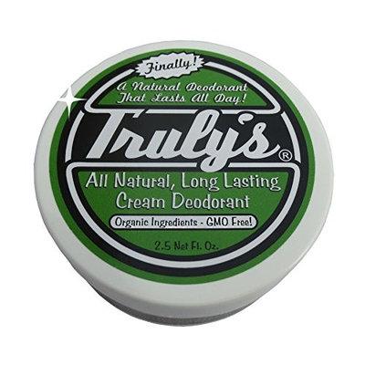 Truly's – All Natural, Long Lasting Organic Cream Deodorant – 2.5 oz
