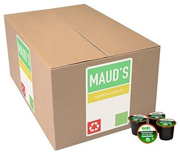 Maud's Coffee Maud's Gourmet Tea Pods - Peppermint Pattie Tea, 100-Count Recyclable Single Serve Pods - Carefully Sourced & Blended - Sealing in the Freshness - Kcup Compatible, Including 2.0