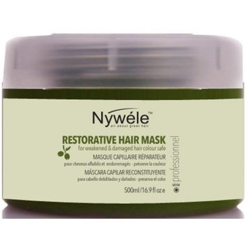 Nywele Restorative Hair Mask, 16.9 oz (500 ml) with Olive Oil - Moisturizing
