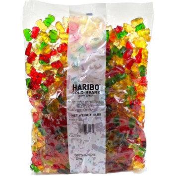 Haribo Of America, Inc. Haribo Gummi Candy Gold-Bears, 5-Pound Bag