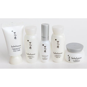 Sulwhasoo Snowise Brightening 5 Items Limited Special Gift Trial Kit. 2016 New by Sulwhasoo