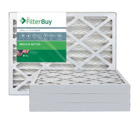 AFB Platinum MERV 13 14x14x2 Pleated AC Furnace Air Filter. Filters. 100% produced in the USA. (Pack of 4)