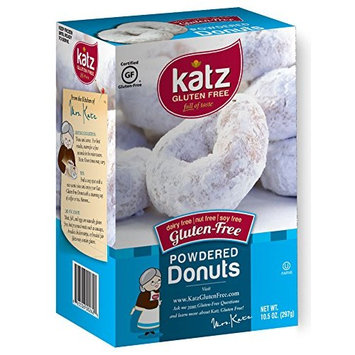 Katz, Gluten Free Powdered Donuts, 10.5 Ounce