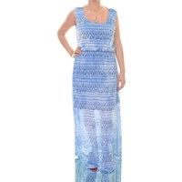 Style & Co. Blue Monn Dress Sleeveless Size L NWT - Movaz