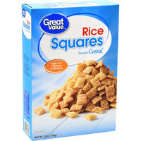 Great Value Rice Squares Toasted Cereal