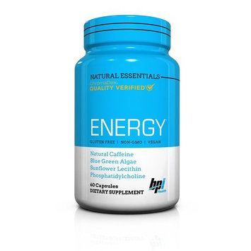 BPI Sports Natural Essentials, Energy, 60 Count
