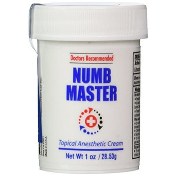 Clinical Resolution Non-oily Numb Master Topical Anesthetic Cream, 1 oz.