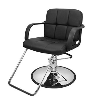 Nexttechnology Barber Chair Hydraulic Salon Chairs Hair Stylist Seat Beauty Chair With Footrest Armrest