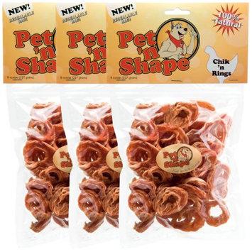 Not Available 3 Pack Pet 'n Shape Chik 'n Rings 24 oz