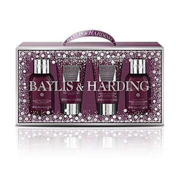 Baylis & Harding Midnight Fig and Pomegranate Bathing Essentials Collection Set