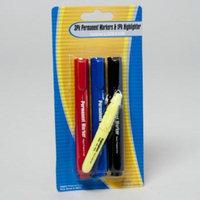 DDI 1989952 Permanent Marker44; Pack of 3 Per Case - Case of 48