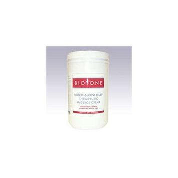 Biotone Muscle and Joint Relief Therapeutic Products Massage Creme, 64 Ounce