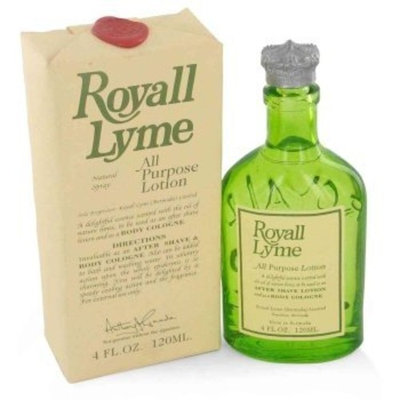 Royall Lyme All Purpose Cologne for Men, 8 Fluid Ounce