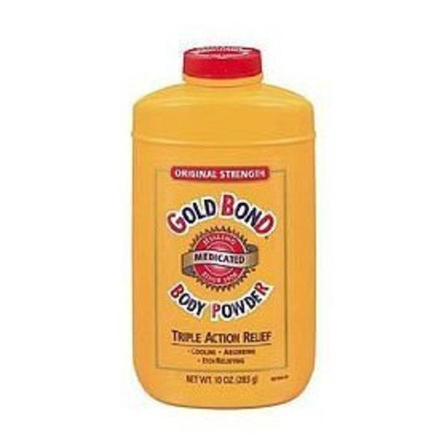 Gold Bond Body Powder Medicated 10 oz ( Pack of 2)
