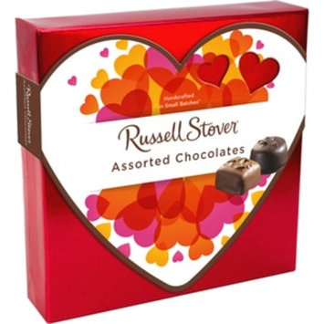 Russell Stover Assorted Chocolates Box With Valentine Sleeve, 5.5 OZ