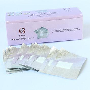 200pcs Nail Art Soak Off Acrylic Nail polish UV Gel Remover Nail Wraps Wipes